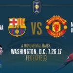 Live Streaming Barcelona Vs Manchester United, Jadwal Siaran Langsung International Champions Cup 2017 (27/7/2017)
