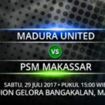 Live Streaming Madura United Vs PSM Makassar, Siaran Langsung Liga 1 Gojek Traveloka Pekan 17 Live di TVone