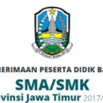 Pengumuman Penerimaan Siswa Baru SMA JATIM, Website www ppdbjatim net