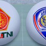 Siaran Langsung PS TNI Vs Arema FC, Liga 1 Gojek Traveloka Pekan ke-12 Live TVOne