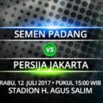 Siaran Langsung Semen Padang vs Persija, Live Streaming Gojek Traveloka Liga 1 Pekan 14 dan Link Nonton Online Dengan Hp