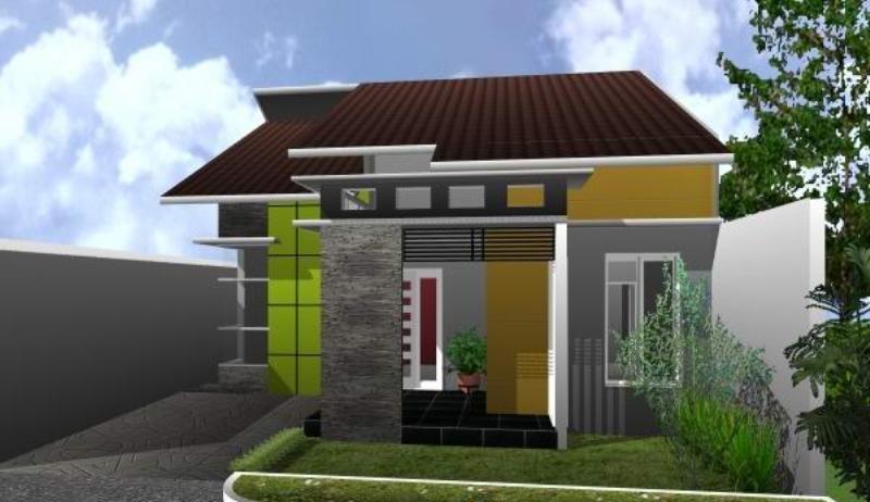 Desain Rumah Minimalis Sederhana 3 Kamar, Gambar Denah Terpopuler