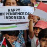 HUT RI 72 Dapat Ucapan dari Anak-anak GAZA Palestina