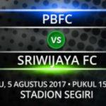 Live Streaming Borneo FC Vs Sriwijaya FC , Siaran Langsung Liga 1 Gojek Traveloka Pekan 18 Live di TVone