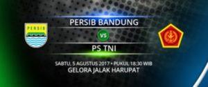 Live Streaming Persib Vs PS TNI , Siaran Langsung Liga 1 Gojek Traveloka Pekan 18 Live di TVone