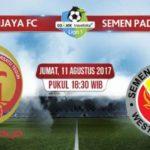 Live Streaming Sriwijaya FC Vs Semen Padang, Jadwal Siaran Langsung Liga 1 Gojek Traveloka Pekan 19 di TVOne