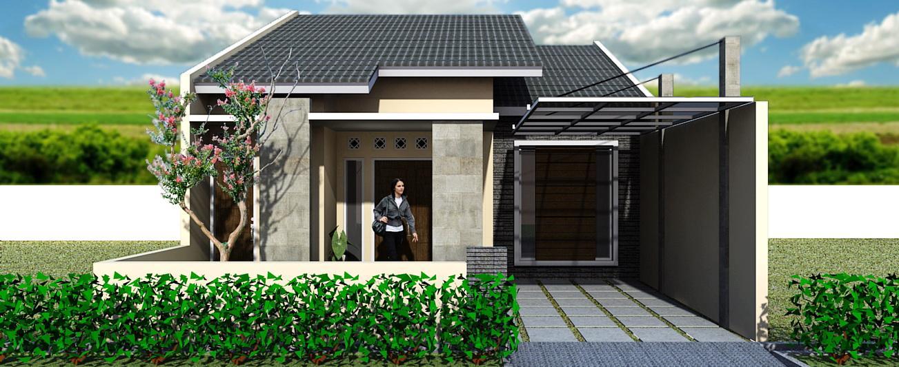 Model Rumah Minimalis 1 Lantai Unik Terbaru