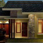 Model Rumah Minimalis Satu Lantai Tampak Depan Unik Terbaru 2017