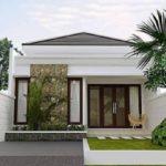 Desain Rumah Minimalis 1 Lantai Sederhana dengan Batu Alam Terbaru 2017