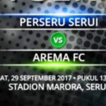 Live Score Perseru Serui vs Arema FC Hari Ini, Skor 2 – 0 FT Liga 1 Gojek Traveloka Pekan 27 (29/9/17)
