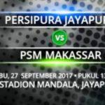 Prediksi Skor Persipura vs PSM, Jadwal Liga 1 Gojek Traveloka Pekan 26 (27/9/17)