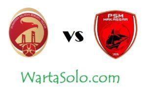 Siaran Langsung Liga 1 Gojek Traveloka Malam Ini, Sriwijaya FC Vs PSM Makassar Laga Super Big Match Pekan ke 24