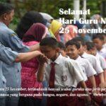 Kata-kata Bijak Hari Guru 25 November 2017, Ucapan Menyambut Peringatan Pahlawan Tanpa Tanda Jasa