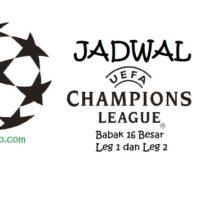 Update Jadwal Liga Champions Musim 2017 2018 Babak 16 Besar Live di SCTV