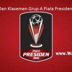 Hasil dan Klasemen Grup A Piala Presiden 2018: PSMS Pecundangi Persib, Sriwijaya FC Mulai bangkit