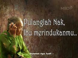 DP BBM Anak Rantau Sahur Sendiri Merindukan Ibu