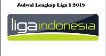 Jadwal Liga Indonesia Musim 2018 Lengkap